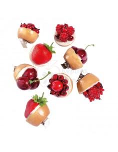 Réplica de Imitación Mini tortas de frutas Ø 4cm