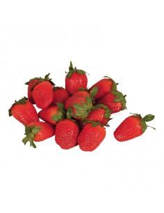 Réplica de Imitación Fresas naturales  4cm