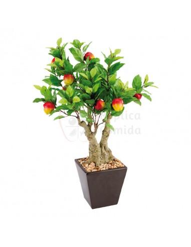 Réplica de Imitación Manzano árbol con tiesto  50cm