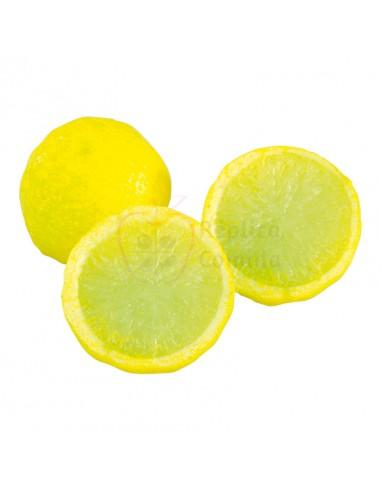 Réplica de Imitación Limón partido por la mitad  4cm