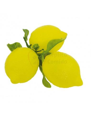 Réplica de Imitación Limón con rama Ø 8cm