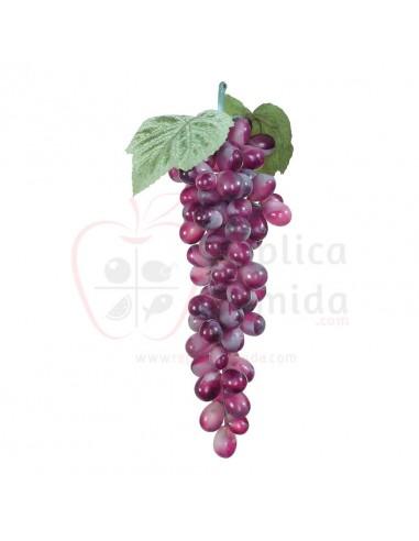 Réplica de Imitación Racimo de uvas borgoña  30cm
