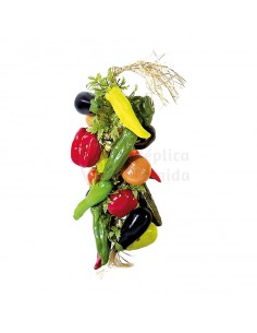 Réplica de Imitación Guirnalda de hortalizas  55cm