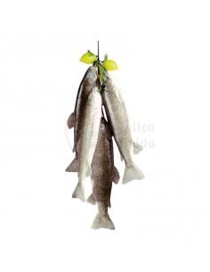 Réplica de Imitación Ristra de peces con limón  55cm