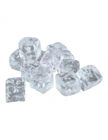 Réplica de Imitación Cubitos de hielo cuadrados medianos  3x3cm