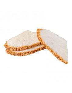 Réplica de Imitación Pan de cereales en rodajas  17x9cm