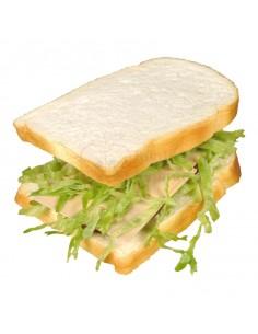 Réplica de Imitación Pan de molde para sándwich  15x12cm