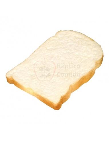 Réplica de Imitación Rebanada de pan de molde  14x12cm