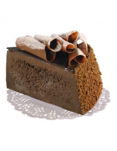 Réplica de Imitación Trozo de pastel de chocolate  7x10cm