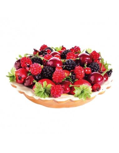 Réplica de Imitación Tarteta de frutas bayas