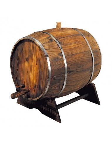 Réplica de Imitación Barril de vino  60x45cm